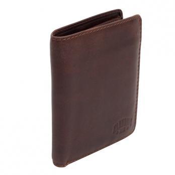 Бумажник Klondike Digger Cade, темно-коричневый, 12,5x10x2 см