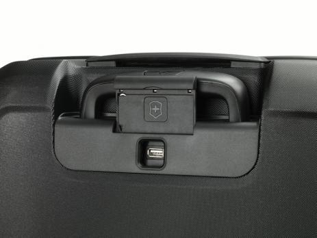 Чемодан Victorinox Connex, чёрный, 40x20x55 см, 34 л