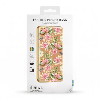 "Аккумулятор iDeal Power Bank 5000mAh, ""Champagne Birds"""