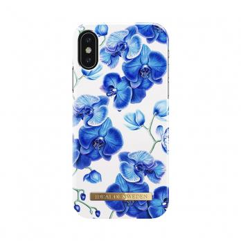 """Чехол для iPhone X/XS iDeal, """"Baby Blue Orchid"""""""
