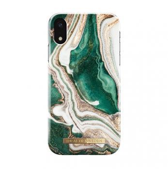 "Чехол для iPhone XR iDeal, ""Golden Jade Marble"""