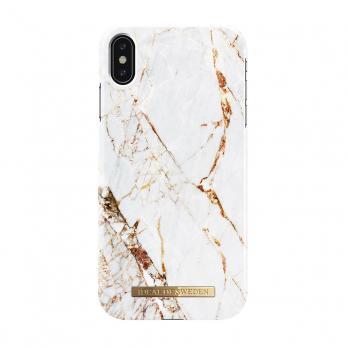 "Чехол для iPhone XS Max iDeal, ""Carrara Gold"""