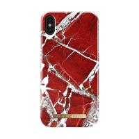 """Чехол для iPhone XS Max iDeal, """"Scarlet Red Marble"""""""