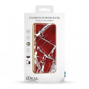"Аккумулятор iDeal Power Bank 5000mAh, ""Scarlet Red Marble"""