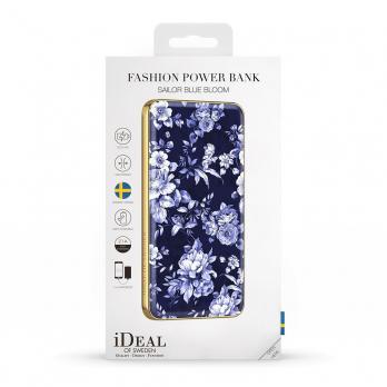 "Аккумулятор iDeal Power Bank 5000mAh, ""Sailor Blue Bloom"""
