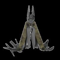 Мультитул Leatherman Charge + Forest Camo, 19 функций, нейлоновый чехол