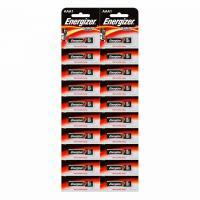 Щелочные батарейки Energizer Power E92/AAA BP20 (20 штук)