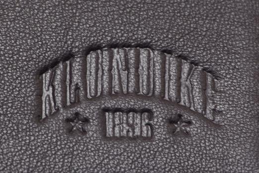 Бумажник Klondike Claim, коричневый, 10х1х12,5 см