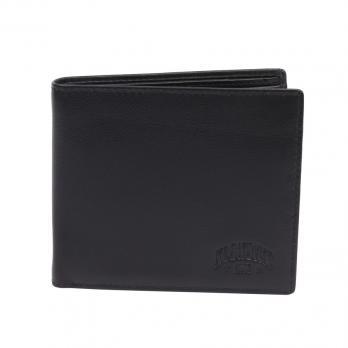 Бумажник Klondike Claim, черный, 12х2х9,5 см