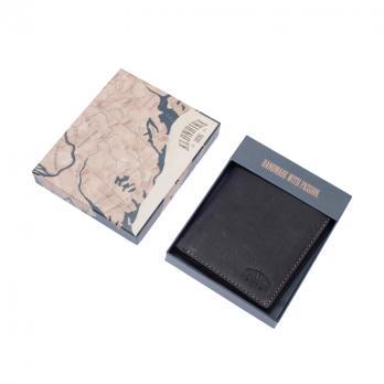 Бумажник Klondike Yukon, черный, 10х2х12,5 см
