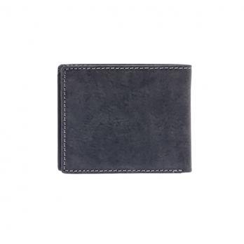 Бумажник Klondike Yukon, черный, 10,5х2,5х9 см