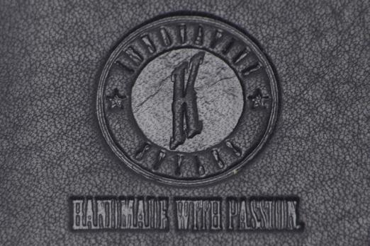 Бумажник Klondike Dawson, черный, 9,5х2х10,5 см