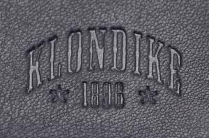 Бумажник Klondike Dawson, черный, 12х2х9,5 см