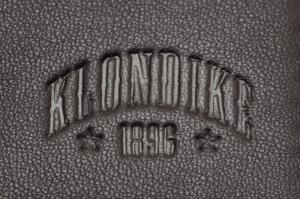Бумажник Klondike Claim, коричневый, 10,5х1,5х13 см