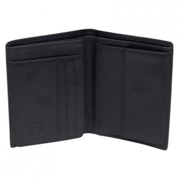 Бумажник Klondike Claim, черный, 10х2х12,5 см