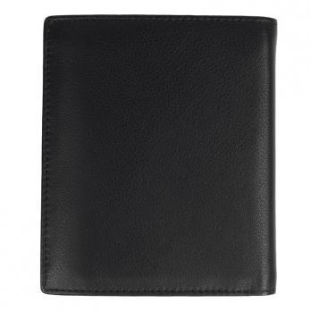 Бумажник Klondike Claim, черный, 10х1,5х12 см