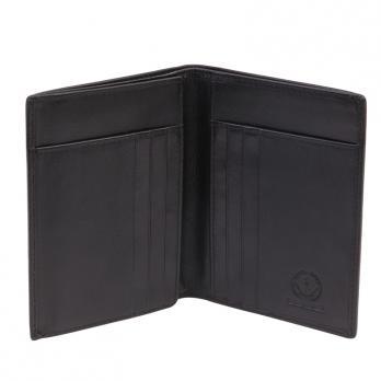 Бумажник Klondike Claim, черный, 10х1х12,5 см