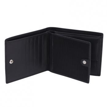 Бумажник Klondike Claim, черный, 12х2х10 см