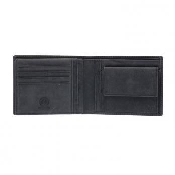 Бумажник Klondike Yukon, черный, 13х2,5х10 см