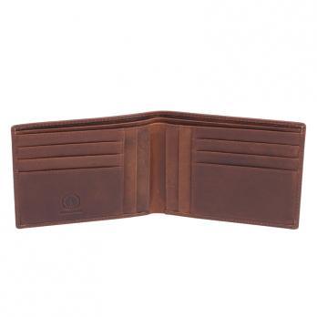 Бумажник Klondike Dawson, коричневый, 13х1,5х9,5 см