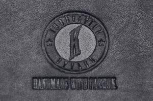Бумажник Klondike Dawson, черный, 12,5х2,5х9,5 см