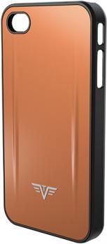 Чехол для iPhone 5 Tru Virtu Shell, цвет кофейный , 126x61x10 мм