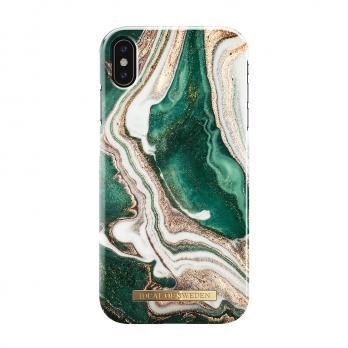 "Чехол для iPhone Xs Max iDeal, ""Golden Jade Marble"""