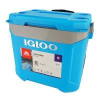Изотермический контейнер (термобокс) Igloo Latitude 60 Roller Cyan (56 л.), синий