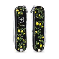 "Нож-брелок Victorinox Classic LE 2019, 58 мм, 7 функций, ""When life gives you Lemons"""