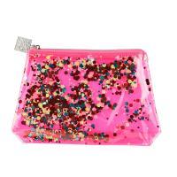 Косметичка Dewal Beauty Модница, розовая, 20х5х16 см