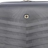 Чемодан Swissgear Fribourg, черный, 49x31x77 см, 97 л