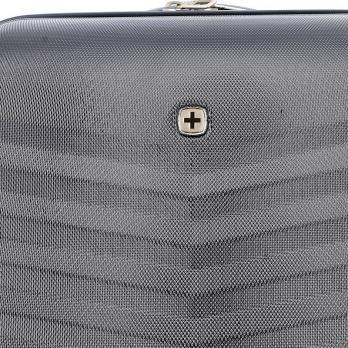 Чемодан Swissgear Fribourg, черный, 45x27x66 см, 64 л