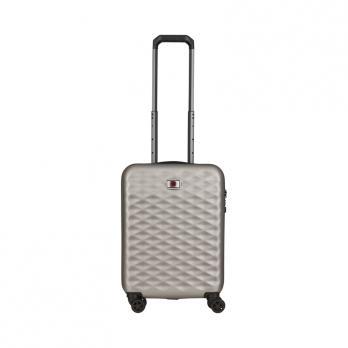 Чемодан Wenger Lumen, серебристый, 40x20x55 см, 32 л
