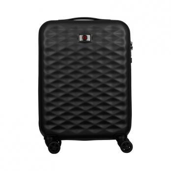 Чемодан Wenger Lumen, черный, 40x20x55 см, 32 л