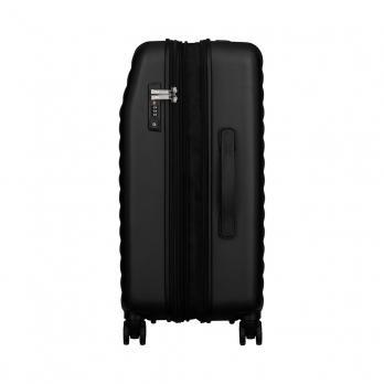 Чемодан Wenger Lumen, черный, 47x26x64 см, 61 л