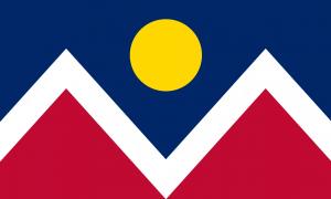 Флаг города Денвер