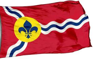 Флаг города Сент-Луис