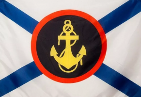 Флаг с эмблемой Морской пехоты