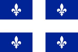 Флаг Франкоканадцев