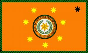 Флаг Чероки
