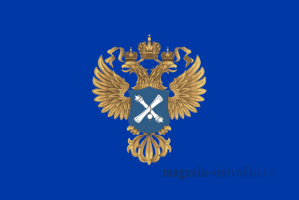 Флаг счетной палаты РФ