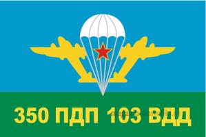 Флаг ВДВ 350 ПДП 103 ВДД