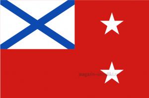 Флаг ВМФ Командующего флотилией, эскадрой