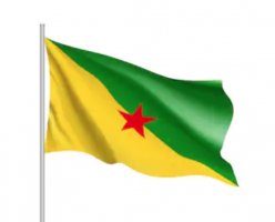 Флаг Французской Гвианы, флаг департамента