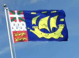 Флаг Сен-Пьера и Микелона