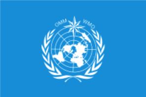 Флаг Всемирной Метеорологической организации(ВМО)