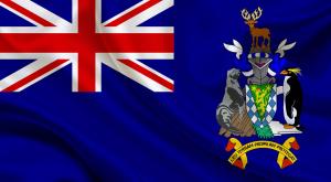 Флаг острова Южная Георгия и Южные Сандвичевы острова
