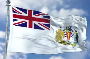Флаг Британская Антарктическая территория