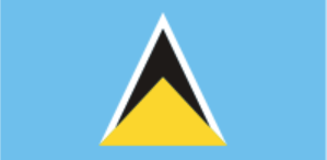 Флаг Сент-Люсии