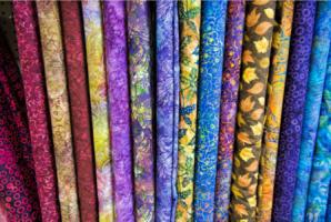 Печать на ткани таффета (полиэфирный шелк)